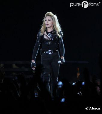 Madonna sera ce soir sur la scène de l'Olympia