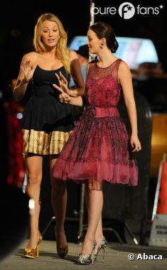 Blake Lively et Leighton Meester de retour sur le tournage de Gossip Girl