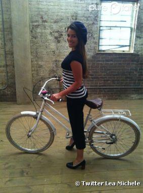 Lea Michele en mode new-yorkaise pour Glee !