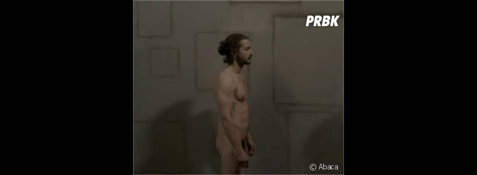 Shia Labeouf n'a pas peur de la nudité
