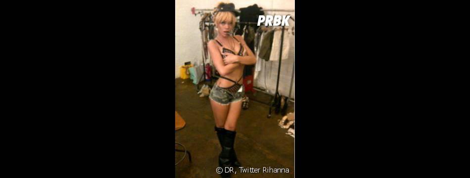 Rihanna marque des points face à Karrueche Tran !