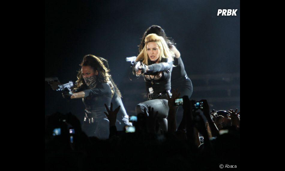 Madonna plus aussi provoc' ?