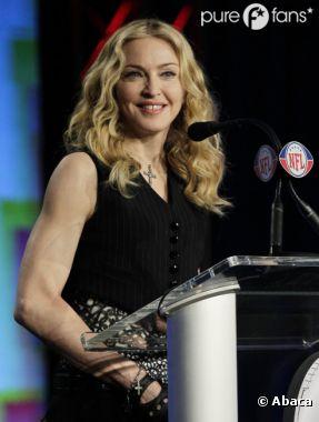 Madonna stoppe la polémique avec Marine Le Pen
