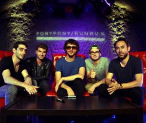 Pony Pony Run Run pendant la Purefans Session