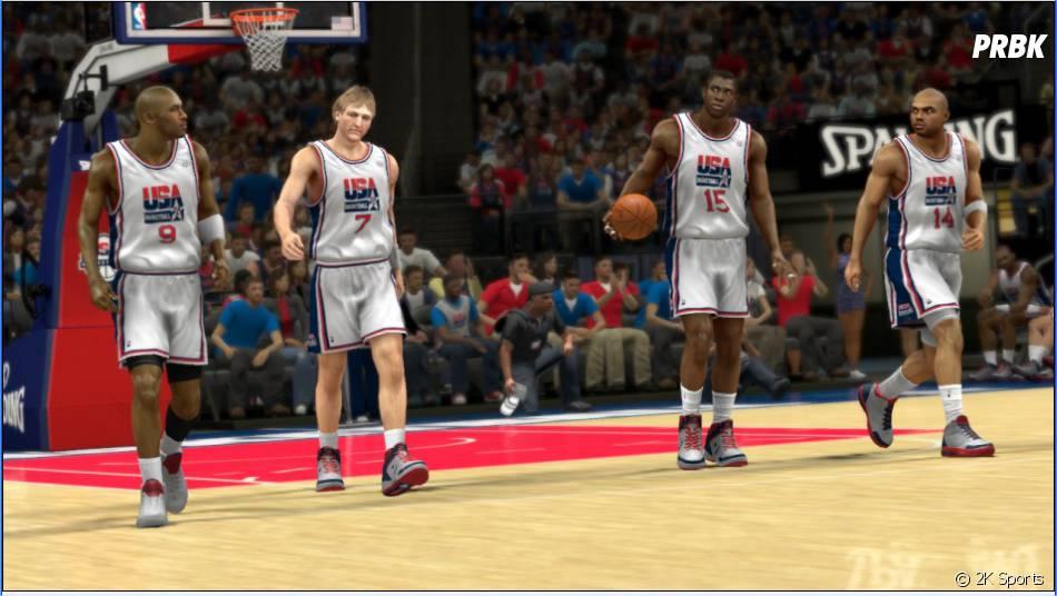 Jouez avec la Dream Team et Charles Barkley pour la première fois dans un jeu 2K ! Merci Jay !