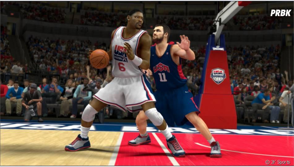 Dream Team 92'-Joueurs NBA 2012-2013, vous en rêviez ? 2K Sports l'a fait !