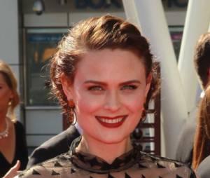 Emily Deschanel de la série Bones était rayonnante lors de la cérémonie