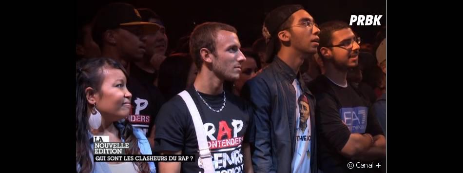 Les rappeurs clash devant un public