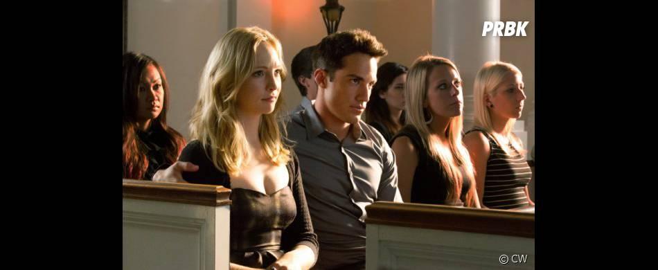 Tyler et Caroline ne semblent pas très tristes...
