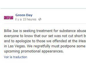 Green Day s'excuse et s'explique