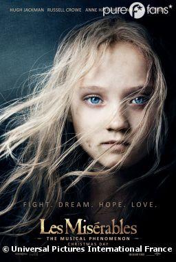 L'affiche du film Les Misérables