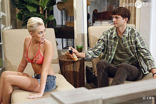 Missi ou Miley va tenter de charmer Ashton