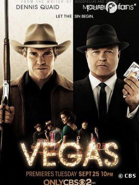Vegas est diffusée tous les mardis soirs sur CBS