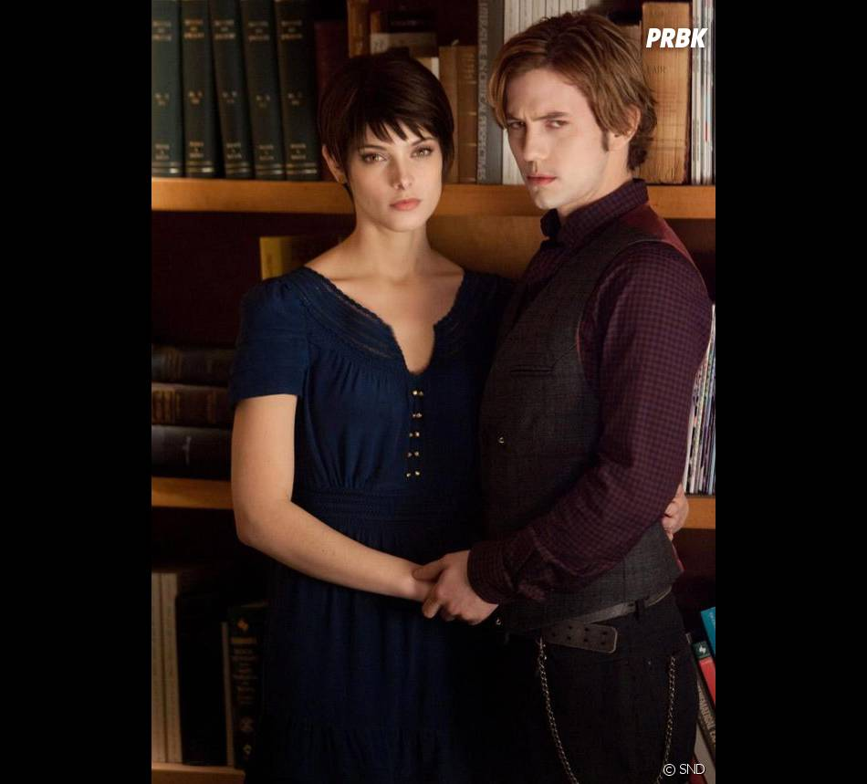 Ashley Greene et Jackson Rathbone dans  Twilight 5