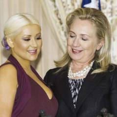 Christina Aguilera : Hillary Clinton matte ses seins (PHOTO)