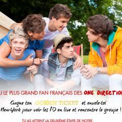 One Direction CONCOURS : prouve que t'es le plus grand fan et rejoins le groupe à New York !