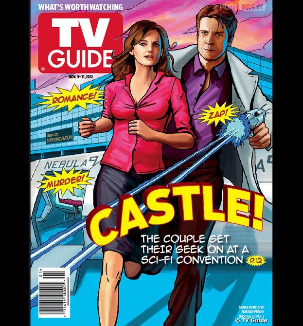 Castle fait la une de TV Guide pour l'épisode 6 de la saison 5 !