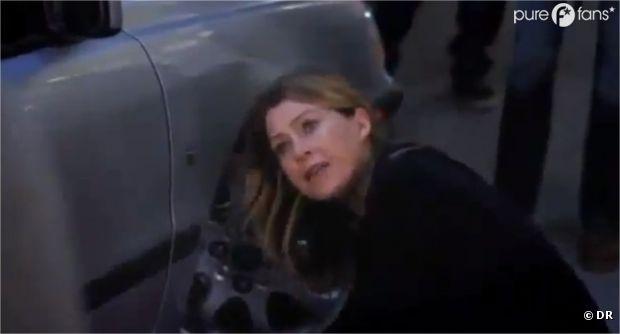 Meredith très énervée dans le prochain épisode de Grey's Anatomy