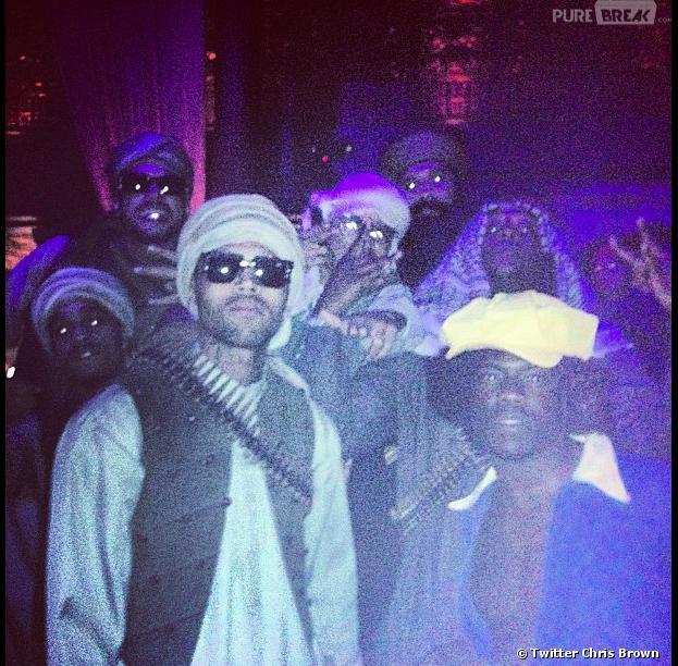 Chris Brown : Déguisé en taliban pour Halloween, il a créé le scandale