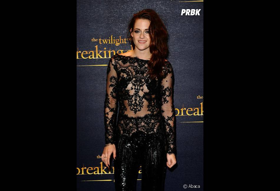 Kristen Stewart, sublime en dentelle