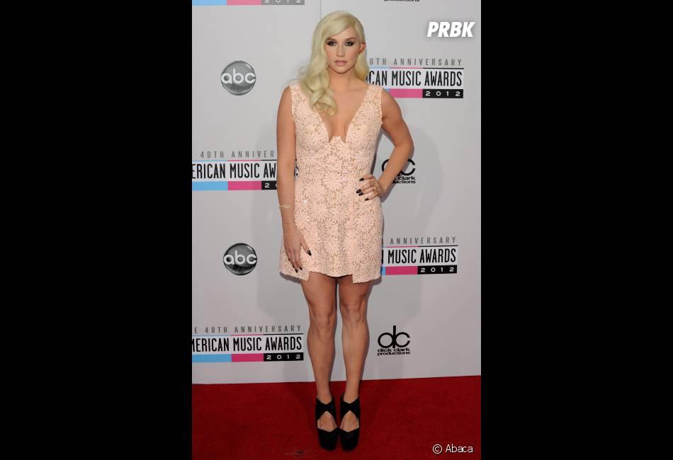 Kesha n'a pas froid aux yeux !