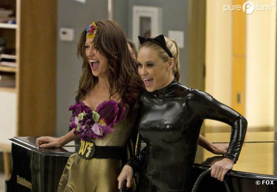 Glee se met en mode super-héros pour l'épisode 7 !