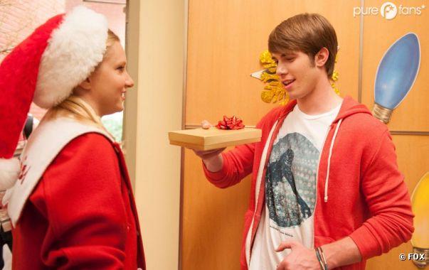 C'est Noël dans Glee !