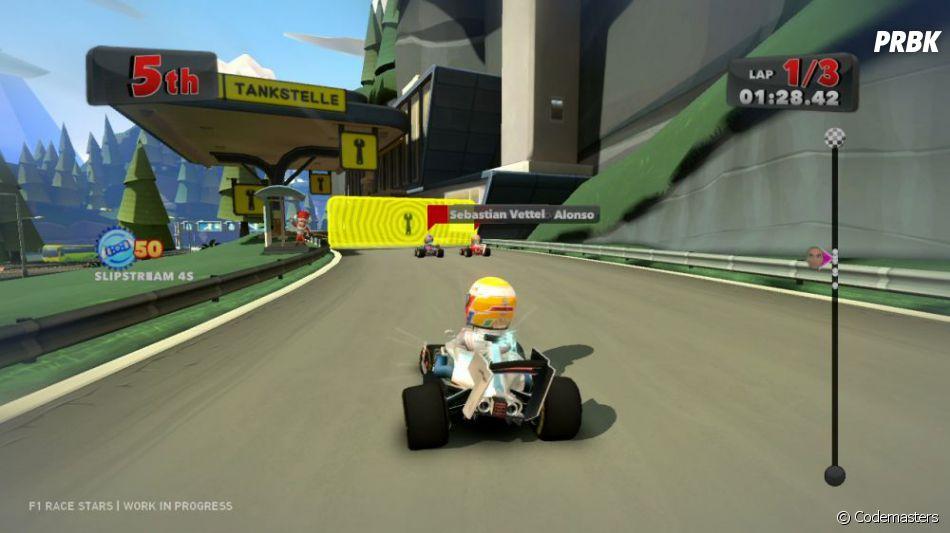 F1 Race Stars : l'arrêt au stand, très stratégique