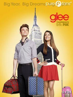 Réunion d'anciens lycéens à New York dans Glee !