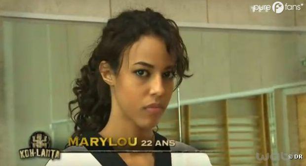 Marylou a appris à vivre sans douche !