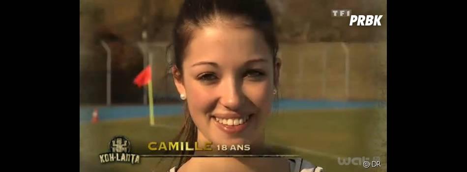 Camille essayait des systèmes D pour tenter de rester propres !