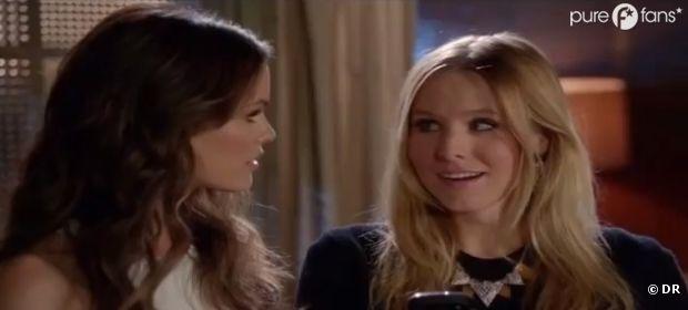 Rachel Bilson et Kristen Bell dans le final de Gossip Girl