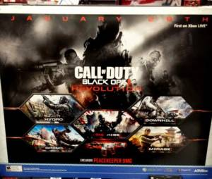 Affiche du DLC de Call of Duty