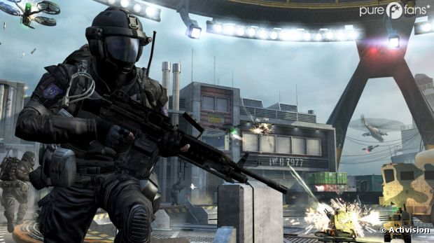 Call of Duty Black Ops 2 fait un carton