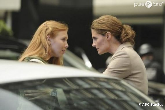 Alexis face à Beckett dans la saison 5 de Castle !