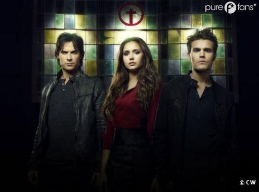Le trio à l'honneur dans The Vampire Diaries