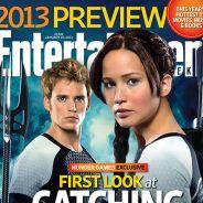 Hunger Games 2 : Katniss et Finnick collés-serrés et en Une de EW !