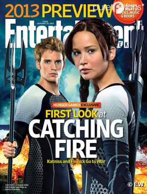 Hunger Games en Une de Entertainment Weekly !