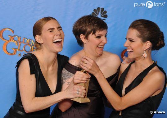 Les Girls d'HBO au top aux Golden Globes 2013