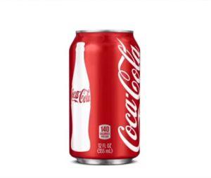 Coca-Cola s'engage à indiquer le nombre de calories dans ses boissons
