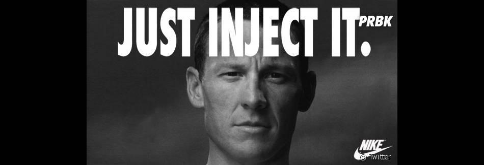 Lance Armstrong prend cher sur le web