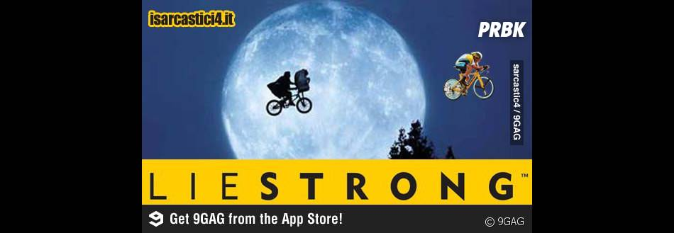 Lance Armstrong plus fort que E.T
