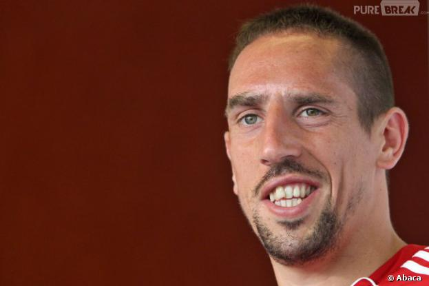 Franck Ribery en mode beau-gosse style