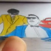 PSY : Gangnam Style, le flipbook bluffant d'un Youtuber