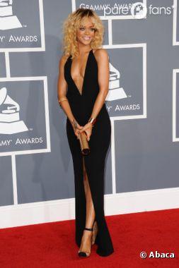 Rihanna, super sexy aux Grammy Awards... 2012