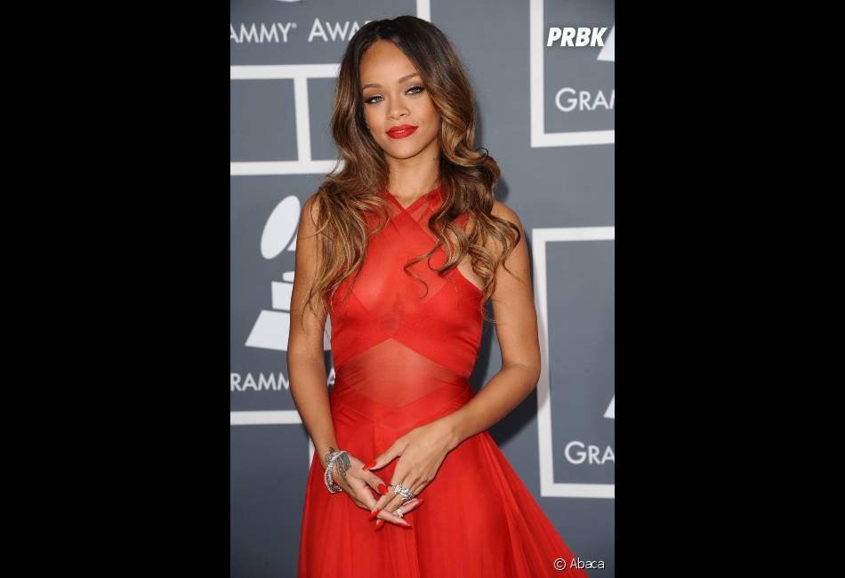 Rihanna gagne le prix de Meilleur clip court aux Grammy Awards 2013