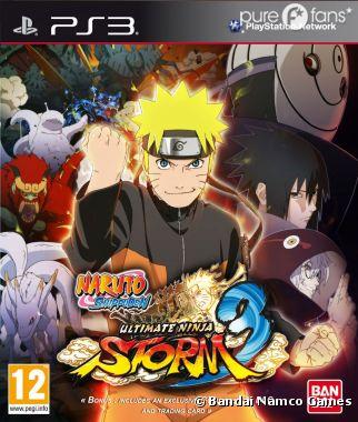 La jaquette de Naruto Shippuden Ultimate Ninja Storm 3