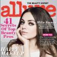 Mila Kunis se le joue sexy et secrète en couv du magazine Allure