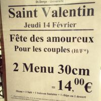 Subway : un menu de Saint-Valentin ouvertement homophobe affole Twitter
