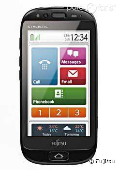 Le Stylistic S01, le smartphone pour seniors